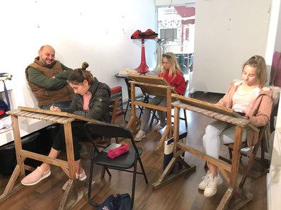 Children's class in MihoArt Studio