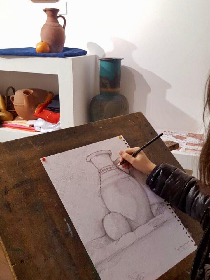 Academic drawing for children