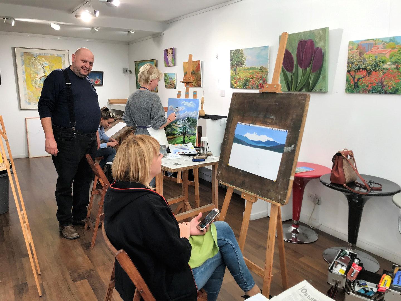MihoArt Studio, art class for adults '19