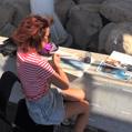 Plein air at Molos, Limassol
