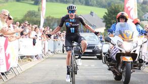 Leo Hayter takes incredible Liège-Bastogne-Liège U23 win for Development Team DSM