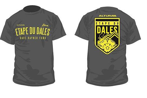 Etape du Dales Official T-shirt - Grey