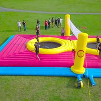 Volley trampoline