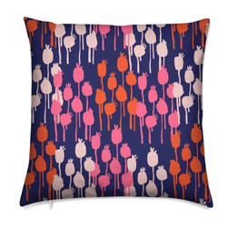 Seed Pods Cushion - Pink