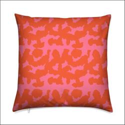 String Print Cushion