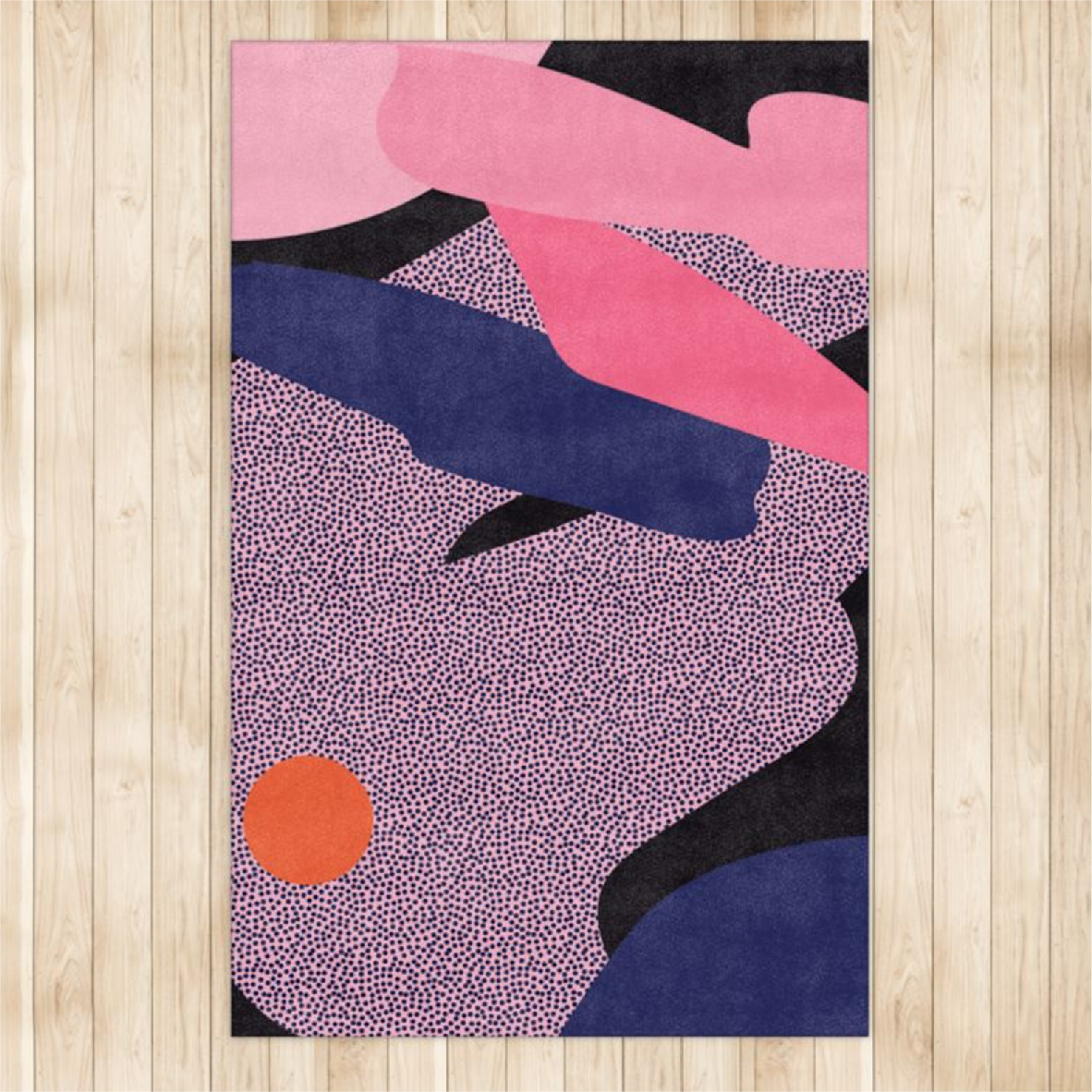 Persnickety Abstract Rug