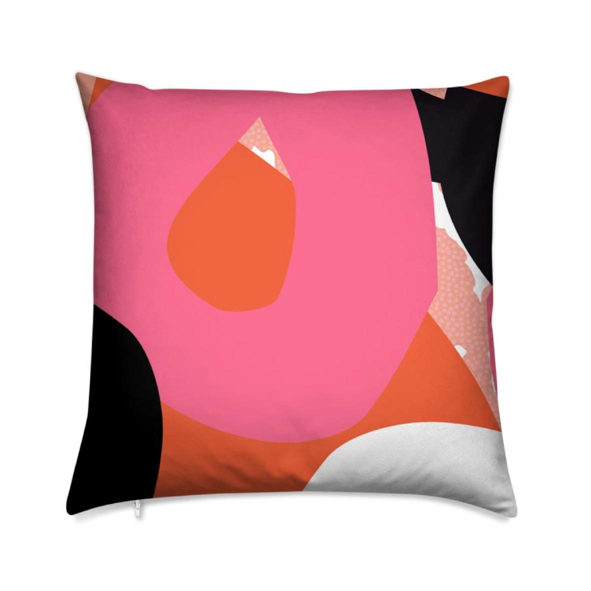 Tidbit Abstract Cushion