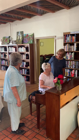Piano fun at Sunshine House - Come join us!