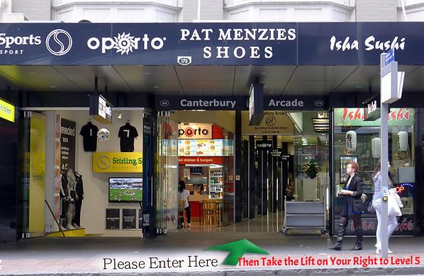 Queen St Entrance (Canterbury Arcade)