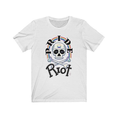 """""""Pride Riot"""" Short Sleeve Tee"""