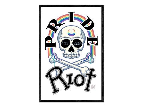 """""""Pride Riot"""" print"""