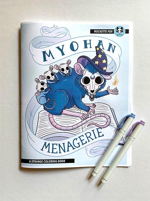Myohan Menagerie: A Strange Coloring Book