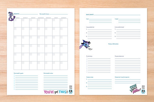 Patron-Only Rockette Planner Pages
