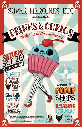 SHE Presents: Drinks & Curios 2018