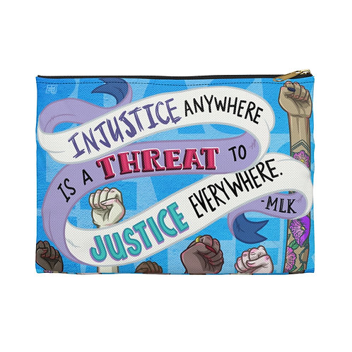 """""""To Justice Everywhere"""" Accessory Pouch"""