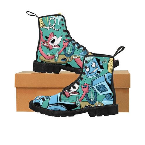 Women's Canvas Boots