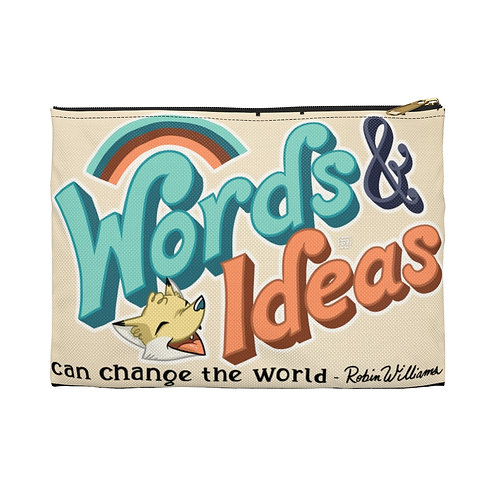 """Change the World"" Pouch"