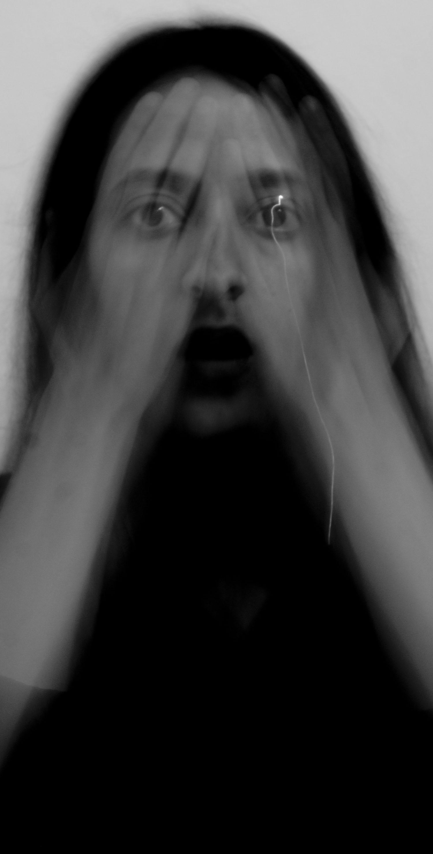Safaa Mazirh, Autoportrait, #5