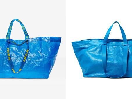 Ikea Had a Great Reaction to Balenciaga Making a $2,145 Version of Its 99-Cent Blue Bag