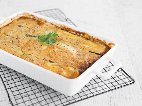 Dairy-Free Zucchini Lasagne with Cashew Cheese
