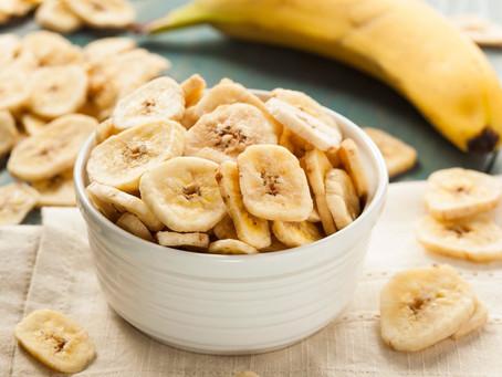 Easy Bake Banana Chips