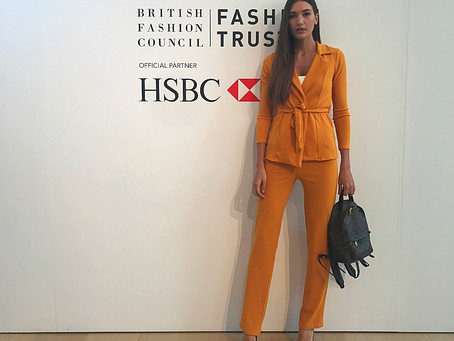BFC Fashion Trust Partnership with HSBC Announcement & Designer Showcase
