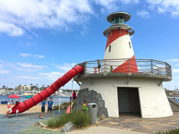 Lighthouse Restroom - Marina Park