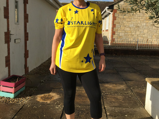 Sarah Huddart aims to raise £2000 for children's charity 'Starlight'!