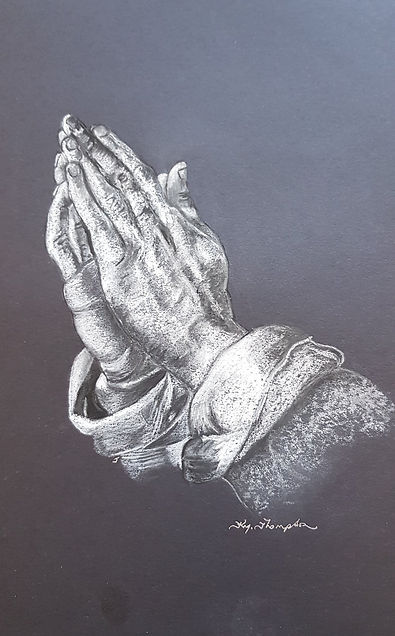 PRAYING HANDS 2 donated to If You Care S