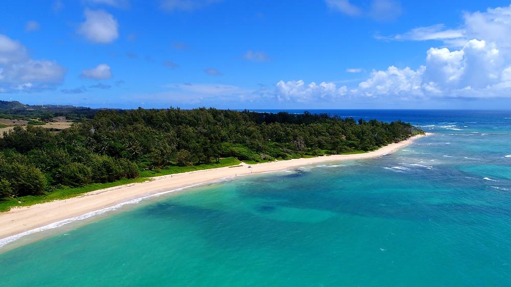 Hukilau Beach (Photo/Tomohito Ishimaru)