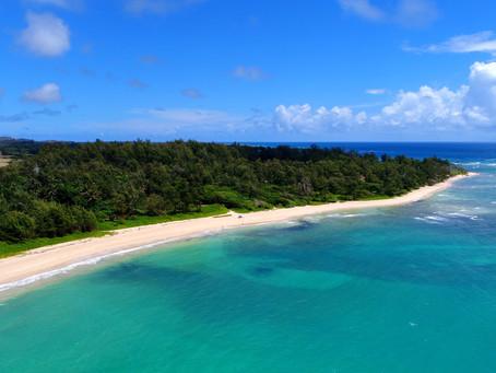 Hukilau beach 〜Hawaii:A Bird's eye〜