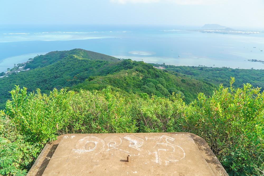 カネオヘ湾を一望できます (PHOTO/Tomohito Ishimaru)