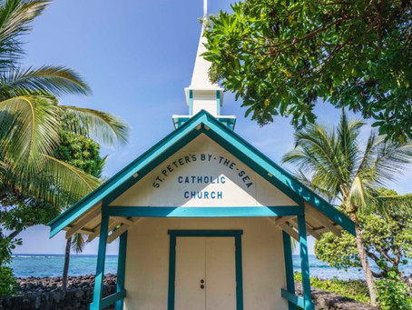 """ハワイで""""いちばん""""な教会"""