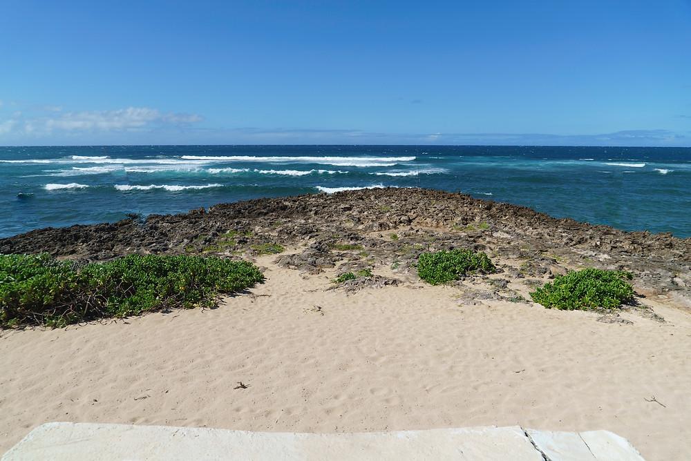 海からの風がひたすらに心地よい。波の音しか聞こえません(Photo/Tomohito Ishimaru)
