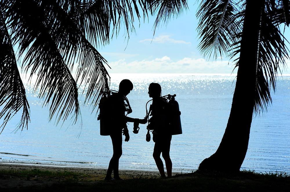 水中、それは完全なる非日常の世界。ハワイに住んでいればそれは目の前です(PHOTO/Tomohito Ishimaru)