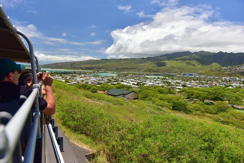 ハワイカイの街並みが見えてきたよ〜(PHOTO/Tomohito Ishimaru)