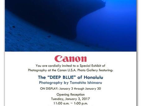"""ホノルルで写真展「The """"Deep Blue"""" of Honolulu」を開催 〜入場無料〜"""