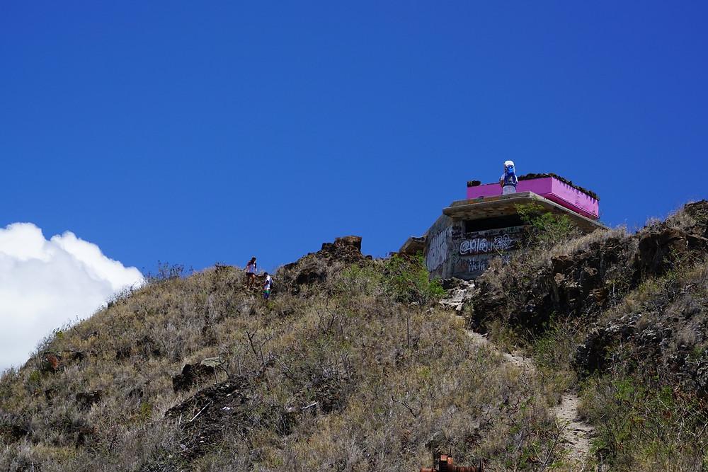 登り始めて30分。目指す頂上が近づいてきました。そしていよいよ、、、  (PHOTO/Tomohito Ishimaru)