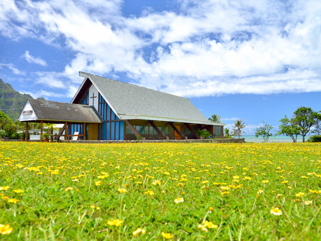 "〜Waikane cougregational church〜 ハワイ在住フォトグラファー""Maru""のこの一枚"