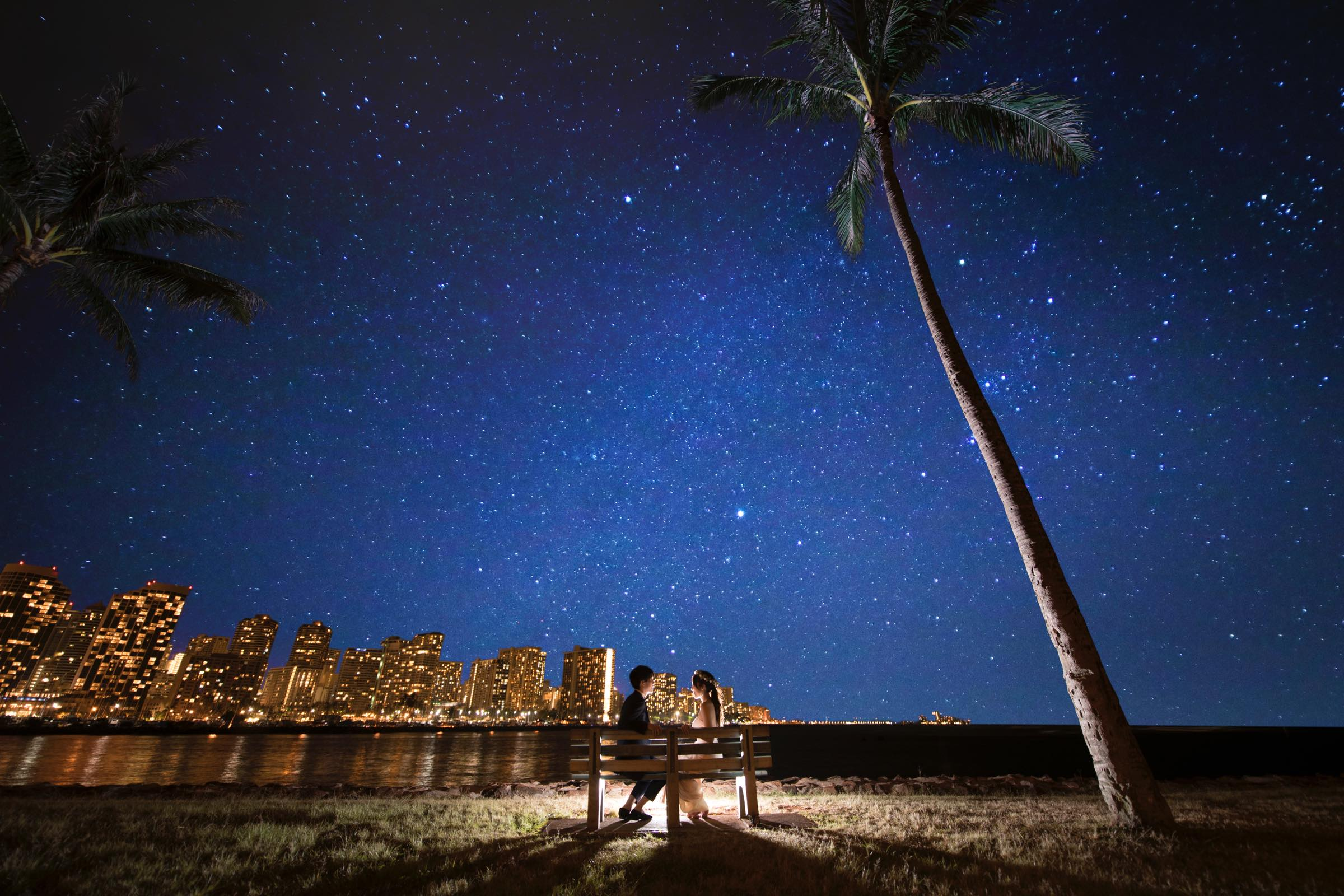 星空@aramoana beach