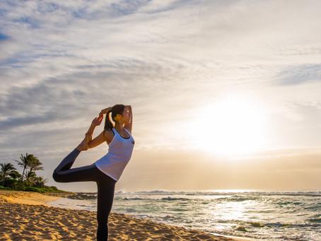 Yoga広告撮影 in サンセットビーチ