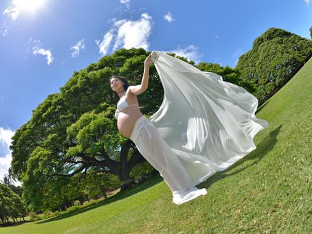 ハワイのマタニティフォト