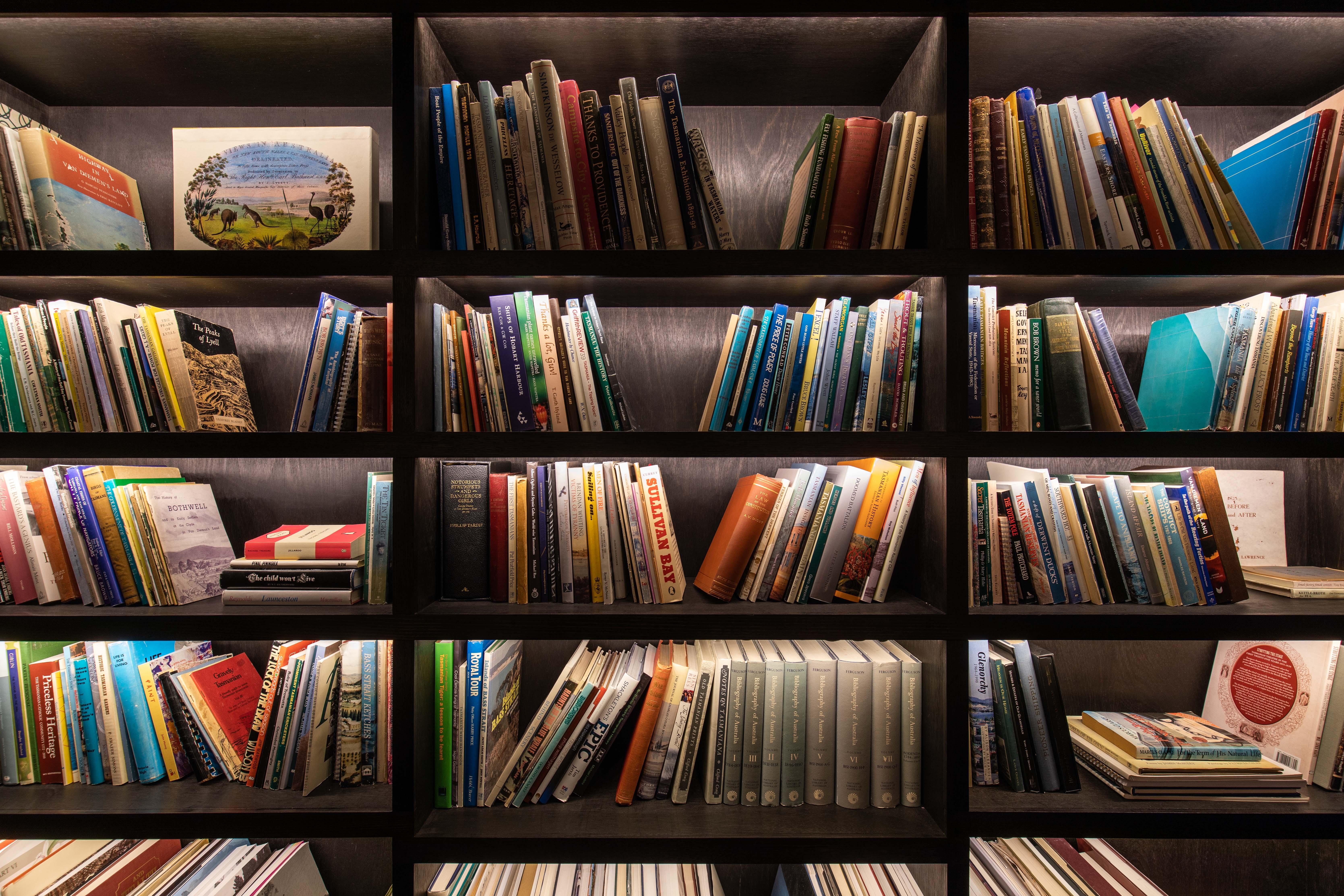 A Tasmanian Reading Room