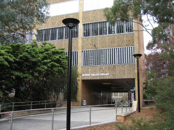 Morris Miller Library 2003