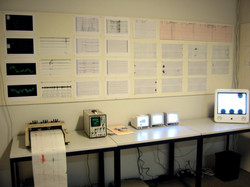 Surveillance and Sorting Room