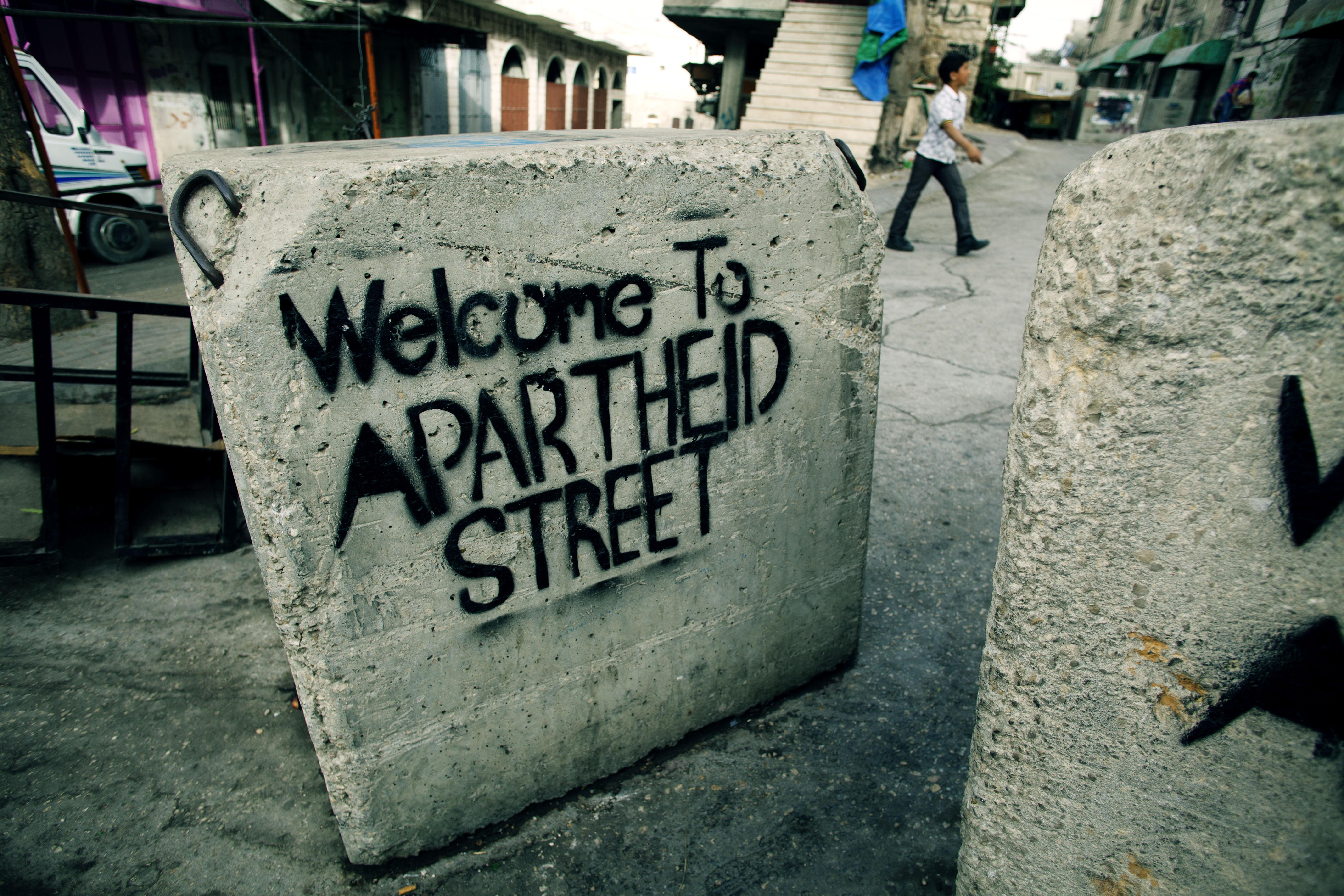 apartheid street