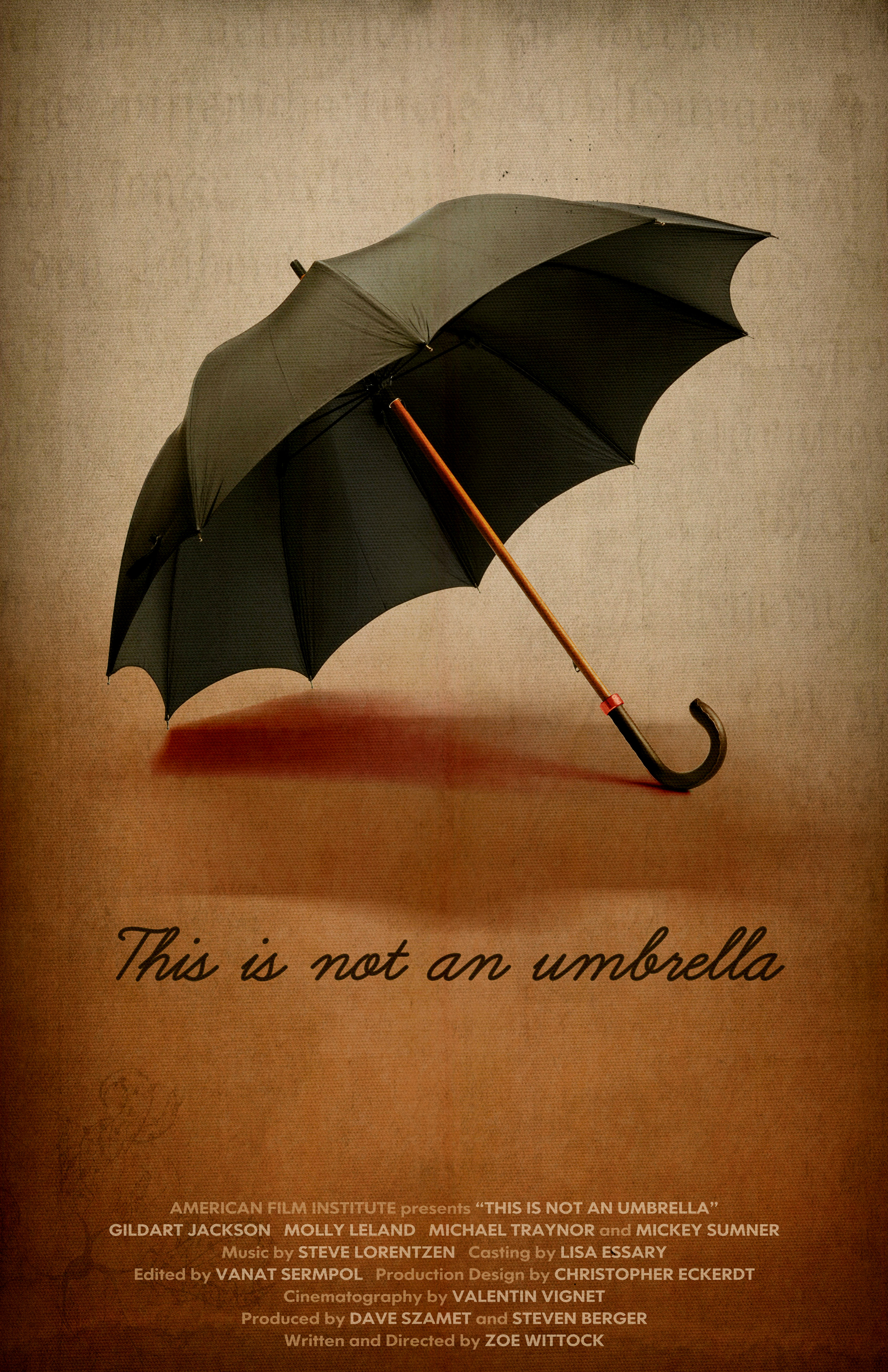 """THIS IS NOT AN UMBRELLA"""