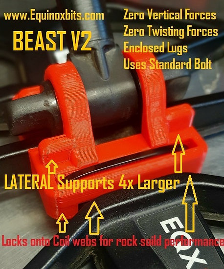 """""""The New BEAST V2"""" Coil Stiffener And Repair Part"""