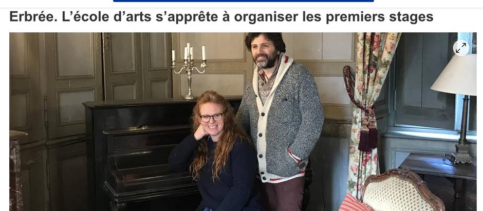 Ouest France - Thélème dec 2019
