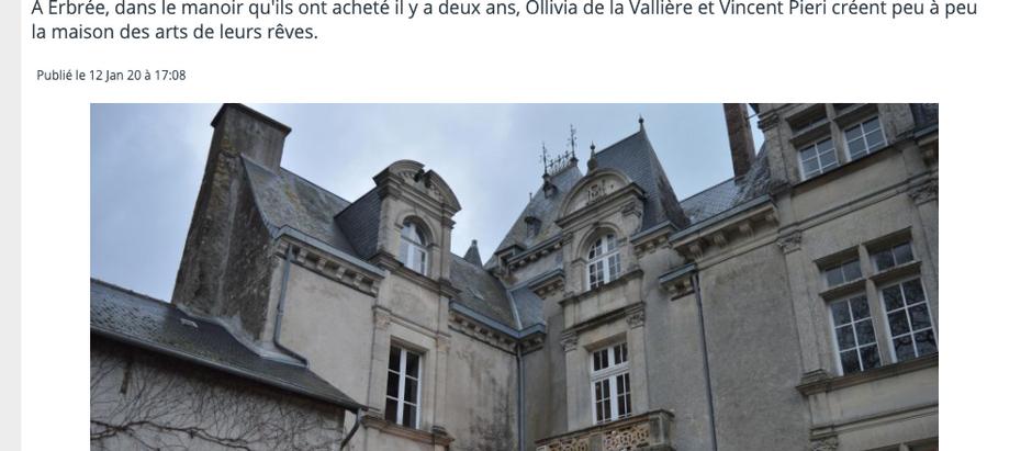 Près de Vitré, ils veulent faire de leur château un temple des arts - Journal de Vitré